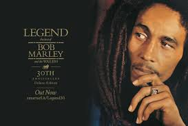BOB MARLEY'S LEGEND HITS NUMBER 5 ON BILLBOARD 200 CHARTS