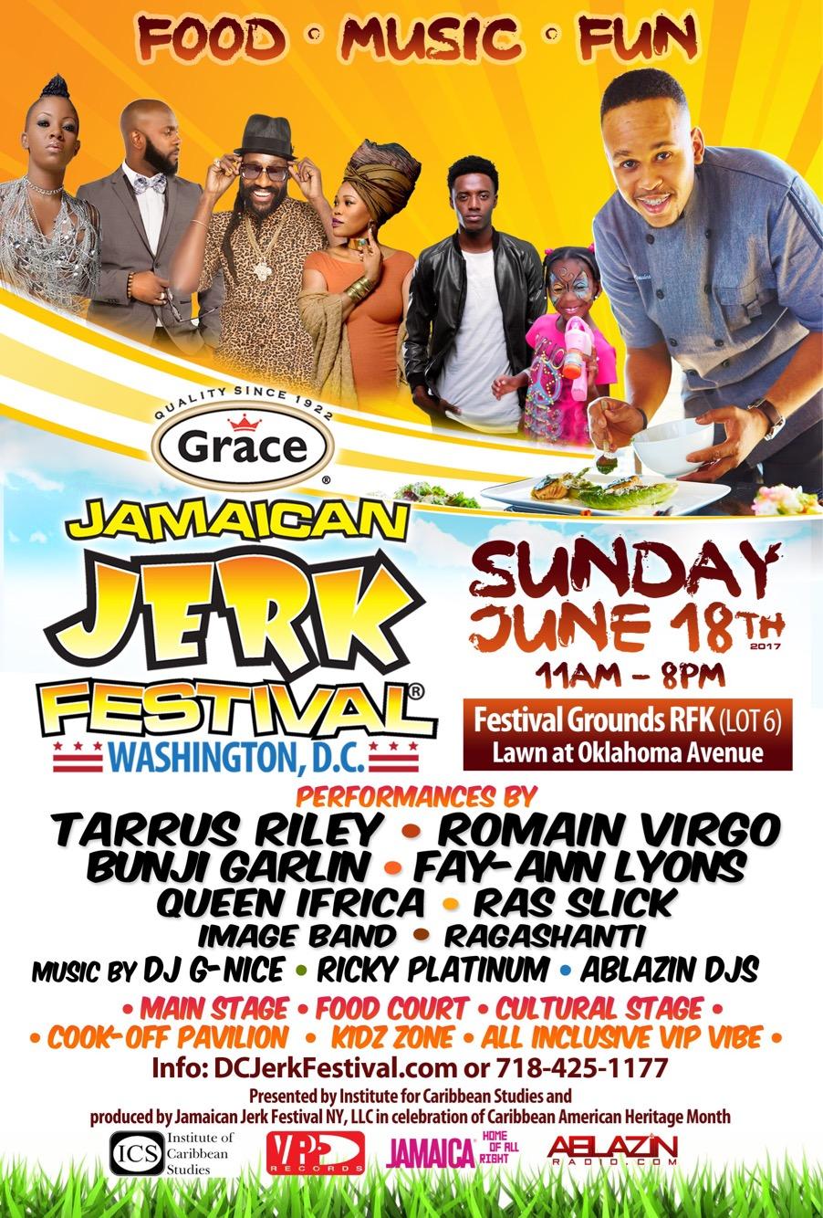 The 2nd Annual Grace Jamaican Jerk Festival Washington DC