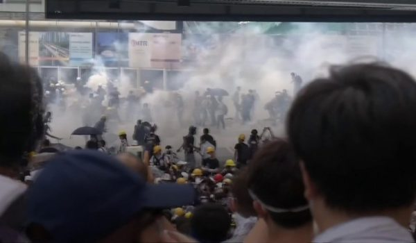 Hong Kong leader criticises 'organised riots'
